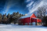 Winter in Hales Corners, Wisconsin