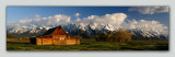Mormon Row Barn (Pano)