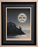 Under a Salish Moon (Andy Everson)