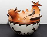 Agnes Peynetsa Duck Jar