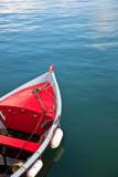 En rouge et en mer