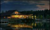 Dining at the lake