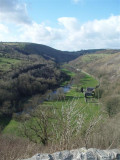 Monsell Head - the valley