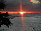 La Digue Sunset