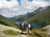 einde Val di Cadlimo nabij Lago di Santa Maria (Lai da Sontga Maria )