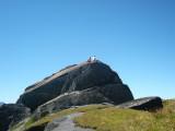 Meike en Arnoud op rots bij Passo di Gana Negra