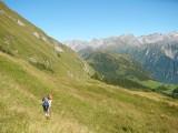 we nemen de zuidkant van de Pizzo di Cadrèigh bergrug met de naam Costa