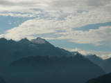 zicht op de hoogste berg van Ticino: Adula/Rheinwaldhorn 3402 m