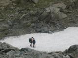 sneeuwvelden bij Lago d'Uffiern