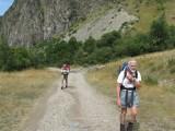 Richting Col de la Sarenne