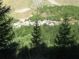 zicht op Clavans-les-Bas