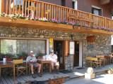 terras Hotel Alpin in Besse-en-Oisans (1550 meter)