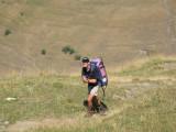 klim naar chalet Josserand(2244 meter)