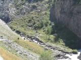 richting refuge de l'Alpe langs de Romanche