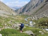 afdaling Col d'Arsine  langs de Petit Tabuc