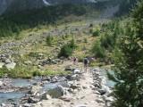 We passeren Lac de la Douche