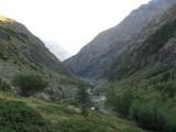 richting Cabane Pastorale du Jas Lacroix (terugblik)