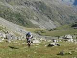 richting Col de l'Aup Martin
