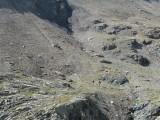 richting Col de l'Aup Martin (terugblik)
