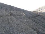 afdaling Col de la Valette