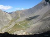 richting Col de Gouiran