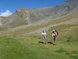 in het dal tussen Col de la Valette en Col de Gouiran