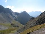 zicht vanaf Col de Gouiran (2597 meter) richting Col de la Valette