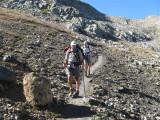 afdaling Col de Gouiran (2597 meter)