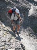 afdaling Col de Gouiran
