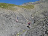 klim naar  Col de Vallonpierre