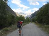 richting La Chapelle-en-Valgaudemar