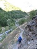 richting refuge des Souffles