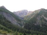 blik op Col de Côte Belle (2290 meter)