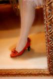 my little orange shoes