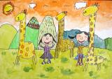 giraffe, Helen Yu, age:5.5