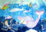 under water, Jasmine, age:6
