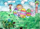 Easter Eggs, Katy, age:8