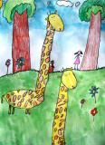 giraffe, Carrie, age:6.5