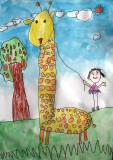 giraffe, Beckie, age:5