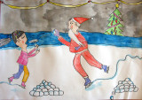 Merry Christmas! Sophia Ying, age:7