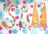 name design - Cat Sam, Jeri, age:10