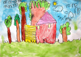 house, Eva, age:4
