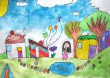 house design, Nancy Chen, age:5