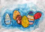Easter Eggs, Rick, age:6