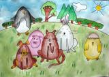 Easter Eggs, Joy, age:7.5