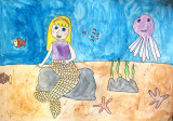Mermaid, Sindy, age:8