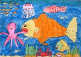 underwater, Silvia, age:8