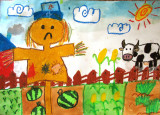 scarecrow, Coco, age:7