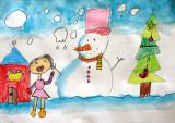 Merry Christmas, Lok Yan, age:5.5