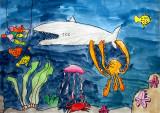 underwater, Callum, age:7